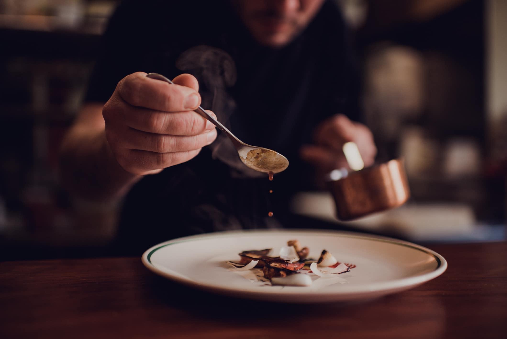 The Local Dish reviews MÄS tasting menu restaurant in Ashland, Oregon.
